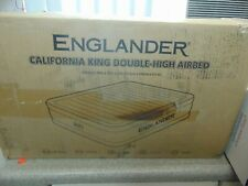 Englander California King Double-High Airbed w/ Built-in Pump