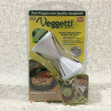 """NEW Veggetti Spiral Vegetable Cutter """"AS SEEN ON TV"""" Low Carb Pasta Easy Potato"""