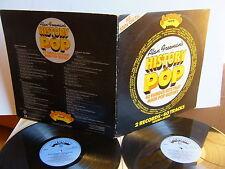 Alan Freeman's History Of Pop  ADE P 9  UK 2LP  1974  Arcade  40 Tracks