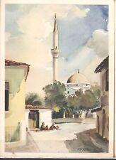 KORCA, ALBANIA, MOSQUE , ISLAM, MUSLIM, MOSCHE