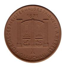 DDR - Glauchau - Portal des MEISTERHAUSES - PORZELLAN - ANSCHAUEN (11758/1346N)