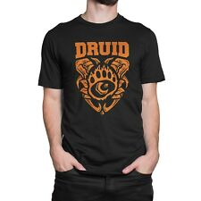 "GiX Gamer Herren T-Shirt ""Druid"" S / M / L / XL / XXL Nerd MMO Classes WoW"