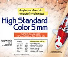 Mangime per Koi e pesci da laghetto High Standard Color 10 kg 5mm