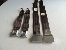 GM LAP SEAT BELTS DELUXE BROWN CAMARO MONTE CARLO CHEVELLE GTO 442 GS350 GS SS