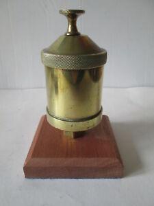 Steam car brass oiler. Automobilia. Steam car .