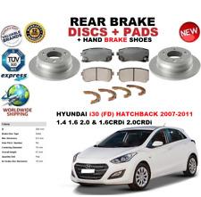 Per Hyundai I30 Fd Hatchback 2007-2011 Freno Posteriore Set Dischi+