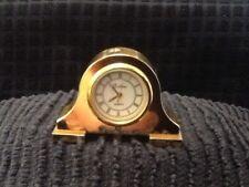 Eclipse Brass Miniature Mantlepiece Clock.