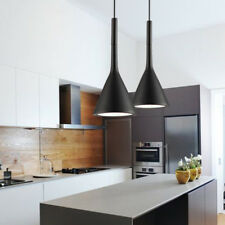 Black Pendant Light Bar Kitchen Chandelier Lighting Home Modern Ceiling Lights