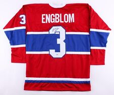 Brian Engblom Signed Montreal Canadiens Jersey (Beckett)Playing career 1975–1987