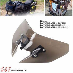MT09 MT 09 Moto Parabrezza Per Yamaha MT-09 FZ-09 2017 2018 19