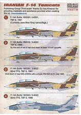 Print Scale Decals 1/48 GRUMMAN F-14 TOMCAT IRANIAN AIR FORCE