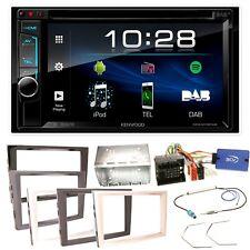 Kenwood DDX-4018DAB Bluetooth DVD Einbauset für Opel Astra H Corsa D Zafira B An