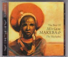 MIRIAM MAKEBA & THE SKYLARKS - THE BEST OF -  CD ALBUM © 1998 TOP!
