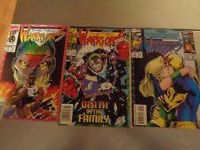 lot of 5  Marvel Comics 1993 the new warriors , the night thrasher