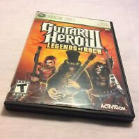 Guitar Hero III: Legends of Rock 3 (Microsoft Xbox 360, 2007) FREE SHIPPING