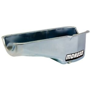 "Moroso 20170 Stock Engine Oil Pan For Small Block Chevy Engines 7-1/2"" Deep NEW"