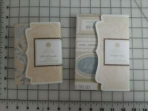 Anna Griffin Foil Flourishes - Silver plus Artfully Said Vellum Quote Stickers