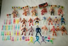 MASTERS OF THE UNIVERSE LOTTO MEXICAN BOOTLEGS #motu, he man eternia tytus