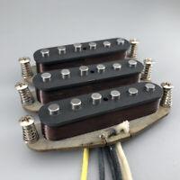 Vintage 65 Handwound Alnico 5 Stratocaster Guitar Pickups N/M/B For Fender