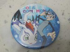 Jou Joe Jyou Gomamon The Real World 4th Badge Button Pin (Digimon Adventure tri)