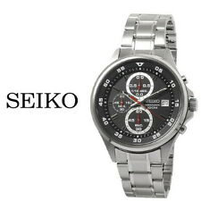 Seiko SKS627J1 Stainless Steel Quartz 100M WR Chronograph Mens Watch