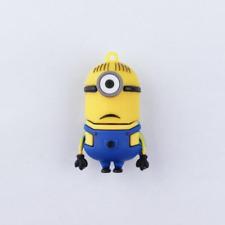 Minigz Minions Usb Stick 64gb Memory Cartoon Keyring Flash Drive Computer Gift