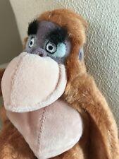 "Disney Store Jungle Book Mini Bean Bag King Louie *8"" Stuffed Animal Gift NEW"