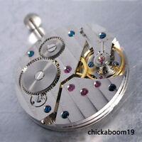 Vintage 17 Jewels watch movement fit men's watch 6497 Hand-Winding movement M2