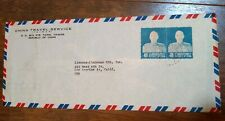 Taiwan Taipei PRC China 1955 commercial business airmail cover To USA