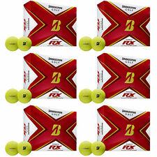 Bridgestone Tour B Rx Reactive Urethane Distance Golf Balls, Yellow (6 Dozen)