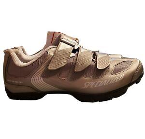 Specialized Body Geometry Women's Riata Cycling Shoes Silver US 9.5 EU41