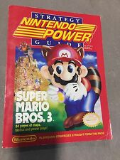 SUPER MARIO BROS 3 CHEAT NINTENDO POWER MAGAZINE BOOK GUIDE STRATEGY NES HQ