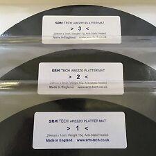 NEW! SRM TECH AREZZO PLATTER MAT VTA-S PACK - ADJUST VTA EASILY - 1,2 & 3mm MATS