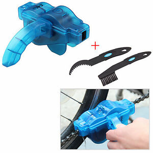 Bicycle Chain Cleaner Bicycle Cleaning Maintenance Tool Brush Washer Set