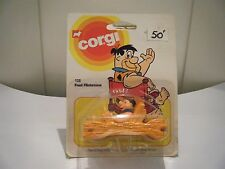 "Corgi Junior no: 128 ""Fred Flintstone"" - Naranja (1981) original sin abrir/"