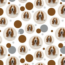 Basset Hound Dog Breed Premium Gift Wrap Wrapping Paper Roll
