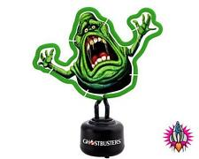 OFFICIAL GHOSTBUSTERS SLIMER MAN SMALL NEON MOOD LAMP NIGHT LIGHT