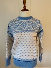 Women's Dale of Norway Nordic Wool Sweater Size M