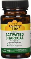 Activated Charcoal by Country Life, 40 capsule