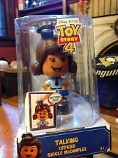 DISNEY PIXAR TOY STORY 4-  TALKING OFFICER- GIGGLE McDIMPLES 20+ SOUNDS 3 FACES