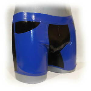 Latex Shorts mit Hosentasche  Size XXL (1976)