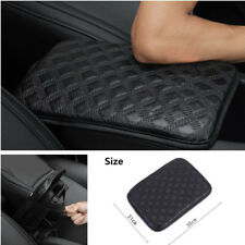 Universal Car SUV Armrest Pad Cover Protector Center Console Box Black 30*21 cm