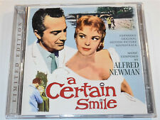 Alfred Newman A CERTAIN SMILE Johnny Mathis Rossano Brazzi Soundtrack 2 CD NM-