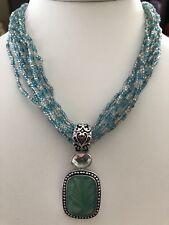 Necklace Nwot Rv $96 Lia Sophia Blue Coast