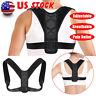 Posture Corrector Brace Women Men BAD Back Support Clavicle Shoulder Body Belt