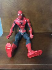 "2003 Marvel Spiderman 2 The Movie SPIDER MAN 18"" LARGE Articulated Action Figure"