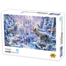 1000 Pieces Elks Puzzle Animal Jigsaw Puzzle Adult Wooden Assembling Puzzles Toy