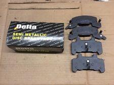 New Delta 762-D289 Semi Metallic Disc Brake Pad Pads