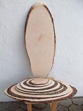 Rindenscheibe - Holzscheibe - Baumscheibe - Brotzeitbrett von 14 - 52 cm