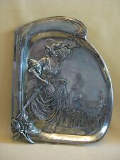 Art Nouveau/ Jugendstil WMF Silver Plated Tray